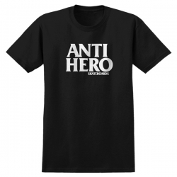 AH TEE BLACKHERO BLK/WHT M - Click for more info