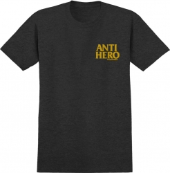 AH TEE LIL BLKHERO CHAR/YLW L - Click for more info