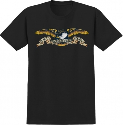 AH TEE EAGLE BLK XL - Click for more info