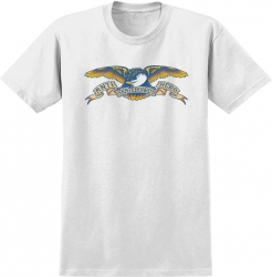 AH YT TEE EAGLE WHT YL - Click for more info