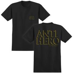 AH TEE PKT DROP HERO BK/YL S - Click for more info