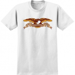 AH TEE EAGLE WHT M - Click for more info