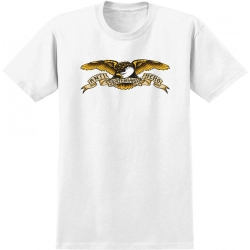 AH YT TEE BASIC EAGLE WHT YL - Click for more info