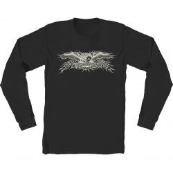 AH LS TEE HESH EAGLE BLK L - Click for more info