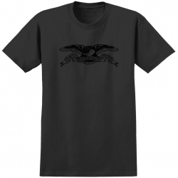 AH TEE BASIC EAGLE BLK/BLK M - Click for more info