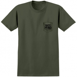 AH TEE PKT RESERVE GRN/BLK XL - Click for more info
