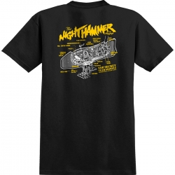 AH TEE GRIMPLE NIGHTHAMR BLK M - Click for more info