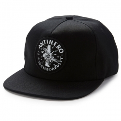 AH CAP ADJ ENGNRING PATCH BLK - Click for more info