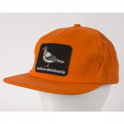 AH CAP ADJ PIGEON PATCH ORG - Click for more info