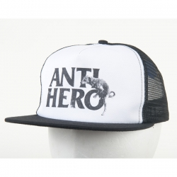 AH CAP TRKR DOG HUMP BLK/WHT - Click for more info