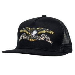 AH CAP TRKR EAGLE EMB BLK - Click for more info