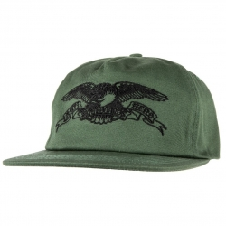 AH CAP ADJ BASIC EAGLE GRN/BLK - Click for more info