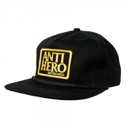 AH CAP ADJ RESERVE PATCH BLK - Click for more info