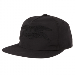 AH CAP ADJ BASIC EAGLE BLK/BLK - Click for more info