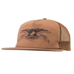 AH CAP TRKR BASIC EAGLE TAN/BK - Click for more info