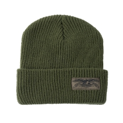 AH BEANIE STOCK EAGLE LABL OLV - Click for more info