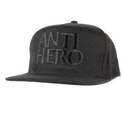 AH CAP ADJ BLACKERO EMB BLK - Click for more info