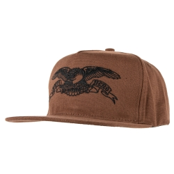 AH CAP ADJ BASIC EAGLE BRN/BLK - Click for more info