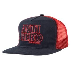 AH CAP TRKR BLACKHERO OL NV/RD - Click for more info