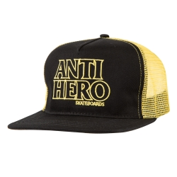 AH CAP TRKR BLACKHERO OL BK/GD - Click for more info