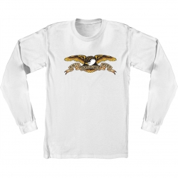 AH LS TEE EAGLE WHT M - Click for more info