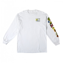 AH LS TEE PARKBOARDS WHT M - Click for more info