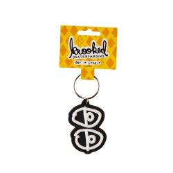 KRK KEYCHAIN EYES BLK/WHT - Click for more info