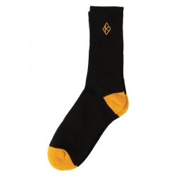KRK SOCK DMD K BLK/GLD - Click for more info