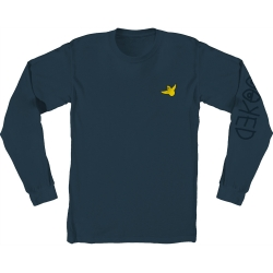 KRK LS TEE OG BIRD EMB BLU M - Click for more info