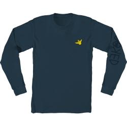 KRK LS TEE OG BIRD EMB BLU M - Click for more info