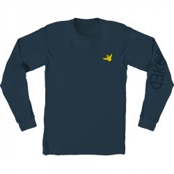 KRK LS TEE OG BIRD EMB BLU L - Click for more info