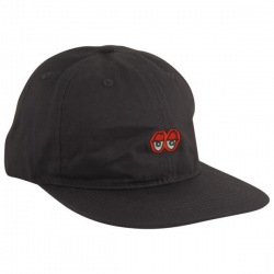 KRK CAP ADJ EYES EMB BLK - Click for more info