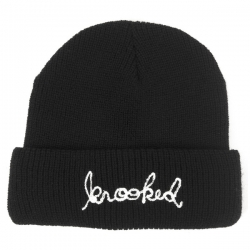 KRK BEANIE SIGNATURE CUFF BLK - Click for more info