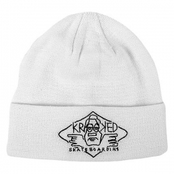 KRK BEANIE ARKETYPE 2 CUFF WHT - Click for more info
