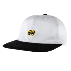 KRK CAP ADJ EYES EMB WHT/BLK - Click for more info