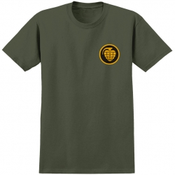 THU TEE GRENADE FILL MIL GRN L - Click for more info