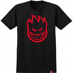 SF TEE BIGHEAD BLK/RED L - Click for more info