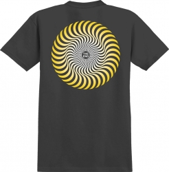 SF TEE CLSC SWIRL FADE BK L - Click for more info