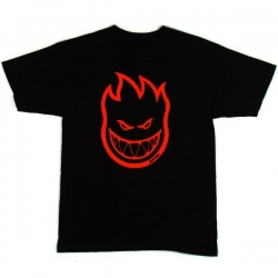 SF YT TEE BIGHEAD BLK/RED YM - Click for more info