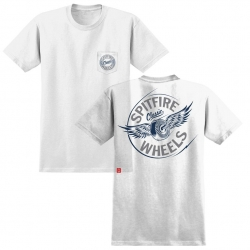 SF TEE PKT FLYING CLSC WHT XL - Click for more info