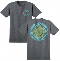 SF TEE CLSC SWIRL FADE HTHR XL - Click for more info