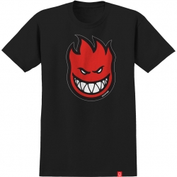 SF TEE BIGHEAD FILL BLK/RED L - Click for more info