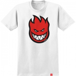 SF TEE BIGHEAD FILL WHT/RED L - Click for more info