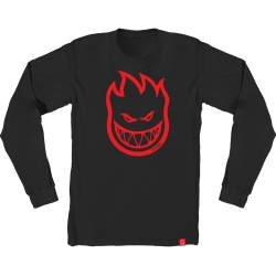 SF LS TEE BIGHEAD BLK/RED S - Click for more info