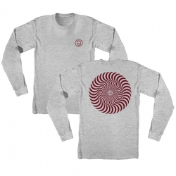 SF LS TEE CLSC SWIRL HTH/BUR L - Click for more info