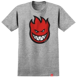 SF TEE BIGHEAD FILL HTHR/RED L - Click for more info