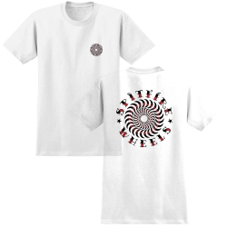 SF TEE ELIJAH CLSC WT/BK/RD S - Click for more info