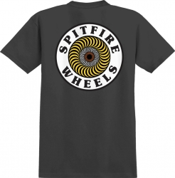 SF TEE OG CIRCLE BLK/WHT/YW M - Click for more info