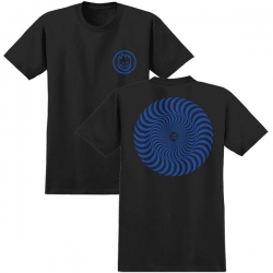 SF YT TEE CLSC SWIRL BLK/NV YX - Click for more info