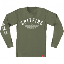 SF LS TEE BURN DVSION GRN M - Click for more info